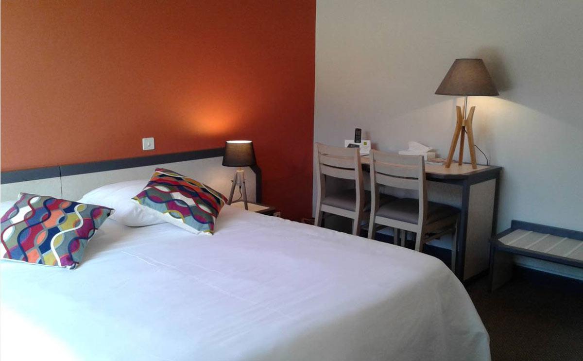 Chambre double hotel bretagne