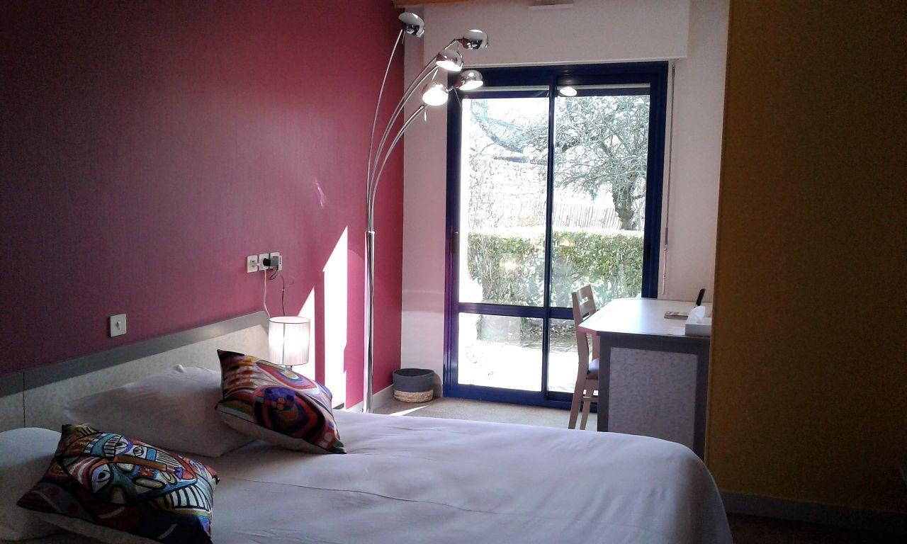Chambre double PMR hotel