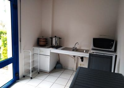kitchenette studio location bretagne